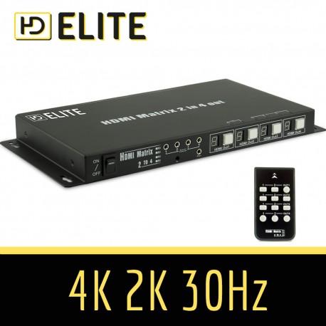 Matrice HDMI 2x4 PROLINE