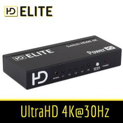 Multiprise HDMI 5 entrées + 1 sortie