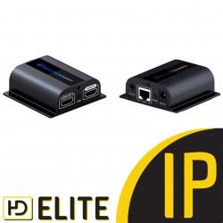 Extender HDMI sur Ethernet IP 4K@60Hz 120M avec IR