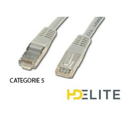 Cable Ethernet 5m (rj 45) Cat.5