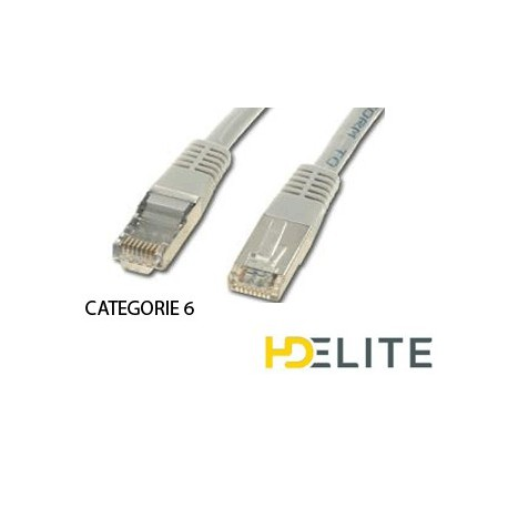 Cable Ethernet 10m (rj 45) Cat.6