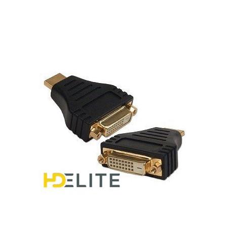 Adaptateur HDMI Mâle DVI Femelle