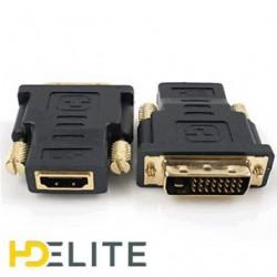 Adaptateur HDMI Femelle DVI Mâle