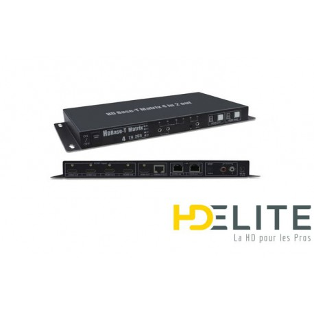 Matrice HDMI 4X2 over HDbase-T